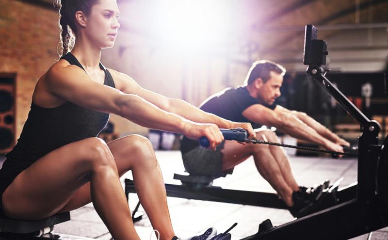 Avantages musculaires du rameur